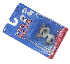 LPS Littlest Petshop Siamese Cat Blue Eyes Pink Crown Tiara #50464 New  2004