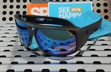New Spy TOURING 180795374281 Sunglasses Matte Black / Happy Bronze/Blue Spectra