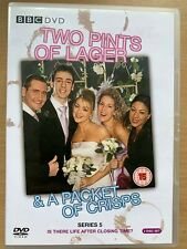 Dos Pintas de Lager y Paquete Crisps Series 5 Británico TV Comedia DVD Box Set