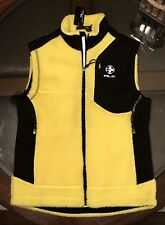 Ralph Lauren RLX Sherpa VEST Size Medium Polo Yellow New With Tags