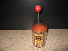 Vintage RETRO Federal Glass Onion Nut CHOPPER Measuring Cup Kitchen Collectible
