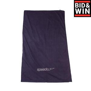 SPEEDO Light Towel Microfiber Quick Drying Lightweight Logo Embroidered