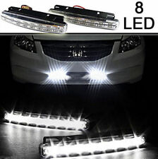 8LED Daytime Driving Running Light DRL Car Fog Lamp Waterproof DC 12V White