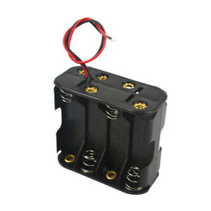 1Pc AA 8-Cell Battery Box with Cable Wire 12V Storage Case Holder Organizer Tool