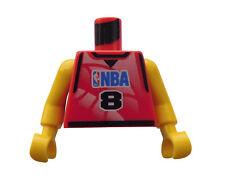 Lego Torso Basketball NBA Nummer 8 Neu 973bpb156c01 aus Set 3428 3432