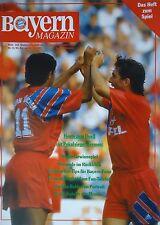 Programm 1991/92 FC Bayern München - Werder Bremen