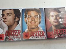 Dexter - erste zweite dritte Season [Staffel 1 2 3][12 DVD] FSK18 Michael C.Hall