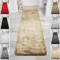Non Slip Hallway Runner Thick Pile Shaggy Rugs Fluffy Large Bedroom Floor Rug