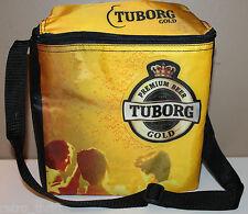 Tuborg Gold Insulated Cooler Bag Premium Beer Copenhagen 9 x 8 x 4.5