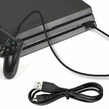 Nuevo Micro USB Cable de carga para los controladores PS4 Cargador De 80cm Negro