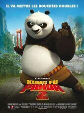 Affiche 120x160cm KUNG FU PANDA 2 /…THE KABOOM OF DOOM) 2011 Yuh Animation NEUVE