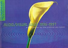 Pioneer Katalog Prospekt Audio/Visual 1996/97 VSX-804 PDR-05 C/M 73 A-09/07 A705