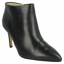 Zip Stiletto Heel Ankle 100% Leather Boots for Women