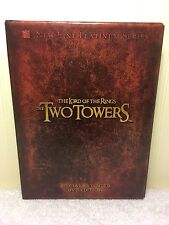 The Lord Of The Rings The Two Towers 4 DVDs Disc Set Special Extended Edition