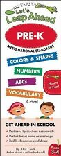 NEW Let's Leap Ahead Pre-K by Alex A. Lluch Spiral Book (English) Free Shipping