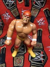 WWF Hasbro Hulk Hogan SERIES 5 wrestling Figure Blue Card