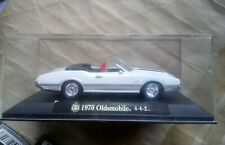 NewRay Oldsmobile 442 White Die Cast 1/43 With Case