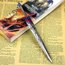 Transformers Optimus Prime Metal Sword Keychain Key Ring Pendant Cosplay Gift