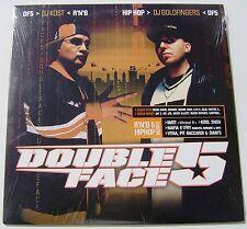 DJ KOST & DJ GOLDFINGERS . DOUBLE FACE 5 . HIP HOP .VINYL . 2 LP NEUF