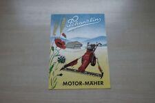 197285) Schanzlin - Motormäher - Prospekt 195?