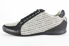 New Emporio Armani Size 6 US Men's Shoes Black   - NIB