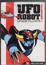 dvd GOLDRAKE UFO ROBOT numero 04 ARRIVA BOSS ROBOT