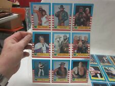 Vintage 1987 Topps WWF Wrestling Trading Card Lot of 27