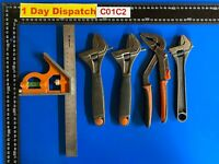 Job Lot of Bahco hand tools adjustable wrenches & Other tools Etc...
