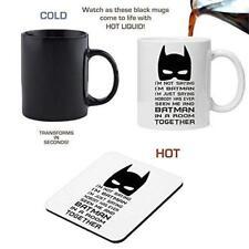 I'm not saying I'm BATMAN - Magic Morphing Mug and Coaster Set