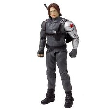 "Original Marvel Captain America civil war Winter Soldier 7"" Action Figure Doll"