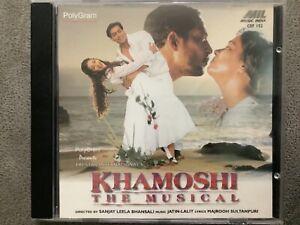 Khamoshi The Musical - MIL Bollywood Music CD CDF 152