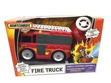 Rare Matchbox Remote Control Fire Truck Rescue Vehicle New