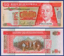 Guatemala 50 Quetzales 2006 UNC p.113