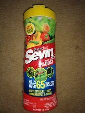 Garden Tech SEVIN 5% DUST Insect Killer Kills Over 65 Bugs Plants Vegetable 1 lb