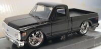 Jada 13cm Long Model Car 24702 - 1972 Chevy Cheyenne  - Black