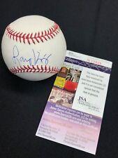 Larry King Signed Major League Baseball Mlb *Radio/Television Host Jsa N12826