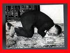 FOTOGRAFIA PHOTO VINTAGE B/N BLACK AND WHITE 1966 ﺣسين بن طلال RE HUSSEIN PREG