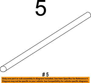 FORD OEM Wiper-Rear Window Blade 7T4Z17528AC