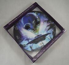 NEMESIS NOW Designer Clock Collection 'Alien Landing' by David Penfound 34cm