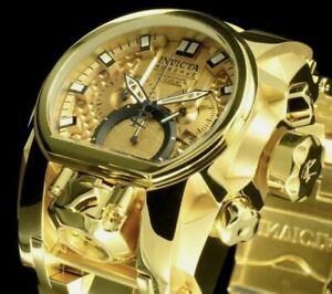 Invicta Reserve Bolt Zeus Magnum Swiss Mvmt Chrome Gold Watch Model 25210