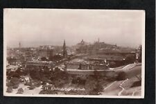 L@@K  Edinburgh From The Castle 1931 Postcard