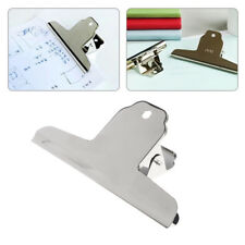 Metal Grip Clips Bulldog Clips Letter Document Organizer File Binder Clamps New