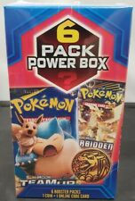 Pokemon Pack Power Box 6 Booster Packs