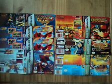 Bundle of Gameboy Advance Megaman Custom Made Covers to fit DS boxes