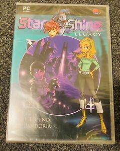 StarSHine Legacy The Legend Of Pandoria (PC) Brand New Factory Sealed Star Shine