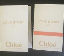 2 CHLOE  LOVE STORY EAU DE PARFUM France spray sample size,1.5 ml Free Shipping