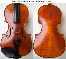 FINE OLD GERMAN VIOLIN MITTENWALD - video - ANTIQUE GEIGE バイオリン скрипка 小提琴 338