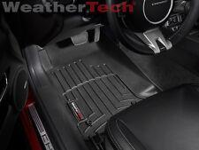 WeatherTech Floor Mats FloorLiner for Chevy Camaro - 2010-2015 - Black
