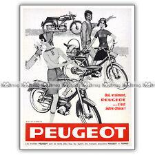 PUB PEUGEOT 50 (LT VLT C CT VCT) - Original Moped Advert / Publicité Cyclo 1967