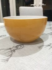 Williams Sonoma Emile Henry Mustard Yellow Ceramic Bowl